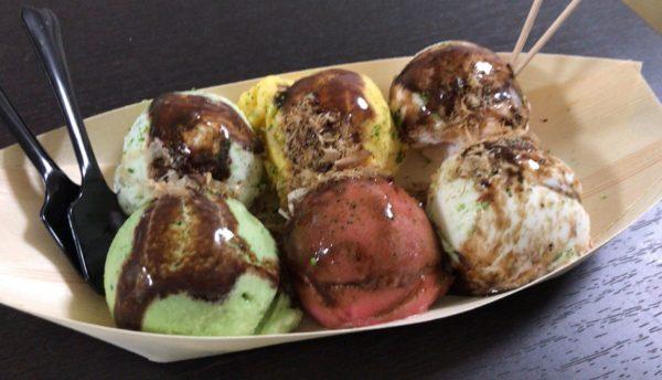 桜山ジェラートLoop たこ焼きアイス