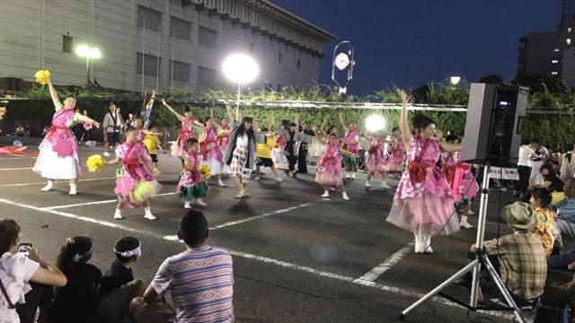 名古屋市博物館の夏祭り