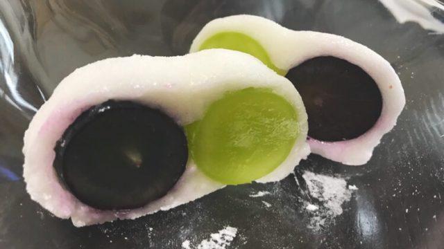 花桔梗の巨峰フルーツ餅