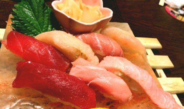 まぐろや石亭 まぐろづくしの握り寿司