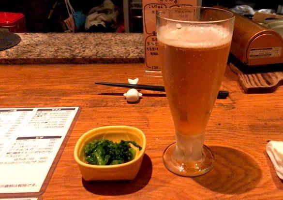 ダイニングバー コビト ビールで乾杯