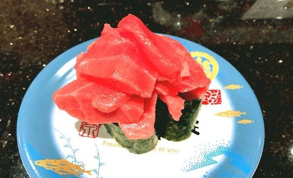 金沢まいもん寿司の本まぐろがんこ盛り