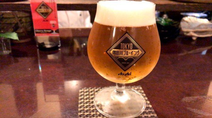 kasiko(かしこ)での一杯目は生ビール