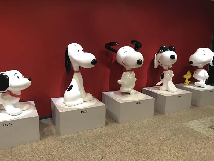 スヌーピーミュージアム展(名古屋市博物館 )撮影スポット3