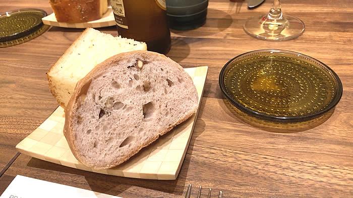 セルヴァッジョ ランチのパン