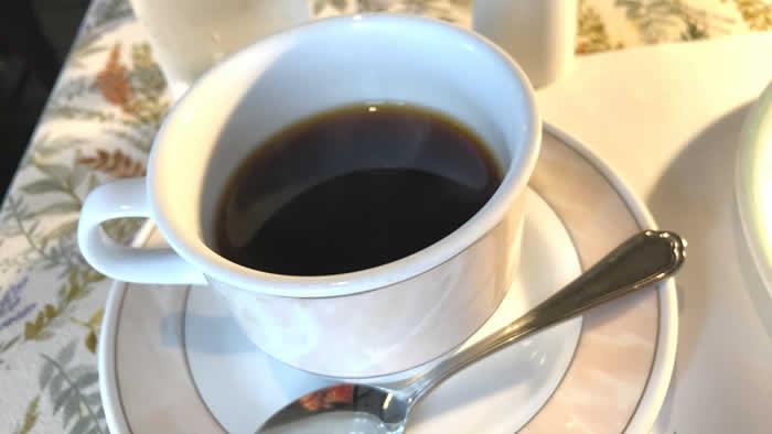 レストラン&カフェ セゾン ランチのコーヒー