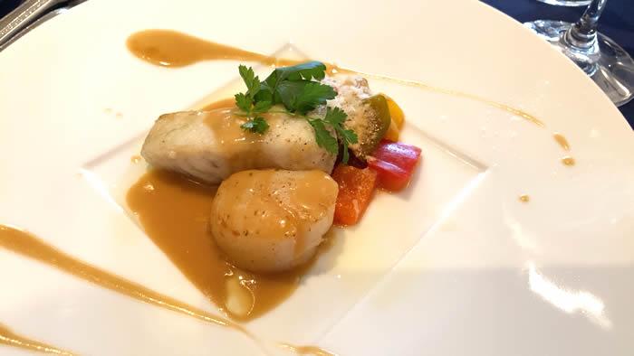 ツァ・ディーレランチ 魚料理