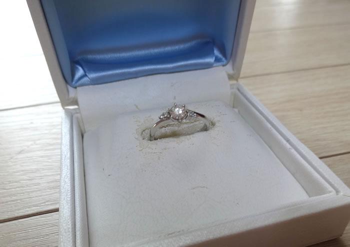 リングオフとリファスタに相見積もりした婚約指輪